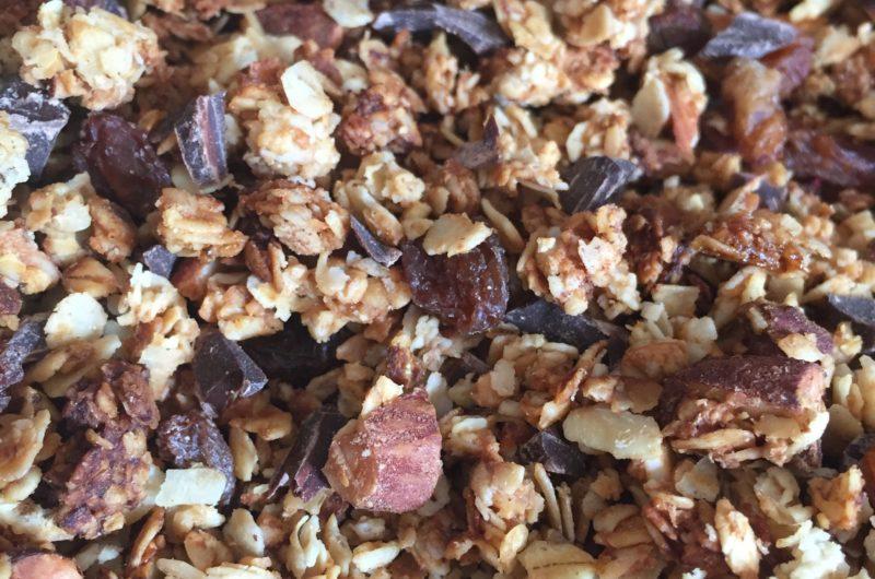Granola choco-amande-raisin